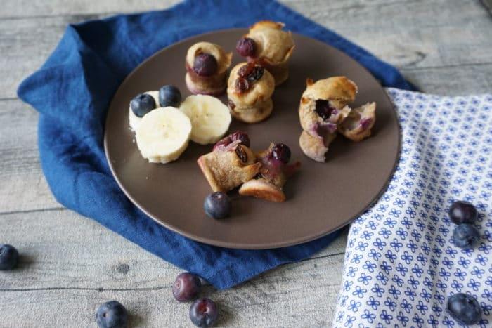 Bananenmuffins ohne Zucker - breifrei und BLW geeignet - zuckerfreie Muffins