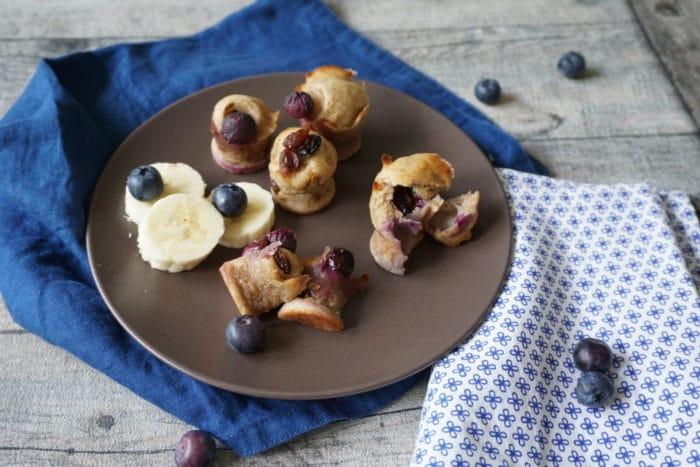 Muffins mit Banane ohne Zucker für Babys - breifrei und BLW