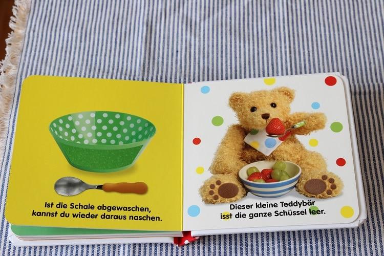 Buchtipp für babys: Fühlbilderbuch Guten Appetit