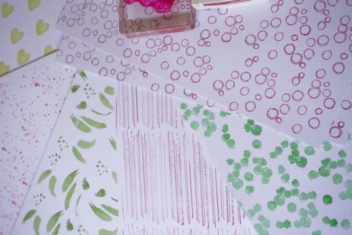 Deko pink und grün für die Hochzeit - Stempel Stampin up - unsere Freitagslieblinge am 2.6.