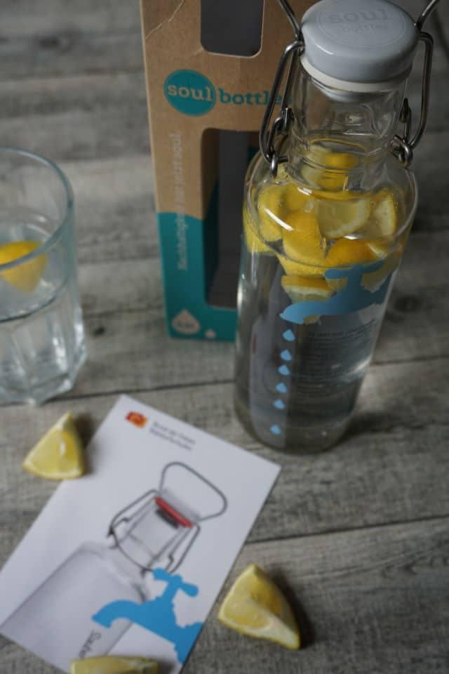 Soulbottle - Glasflasche als Trinkflasche