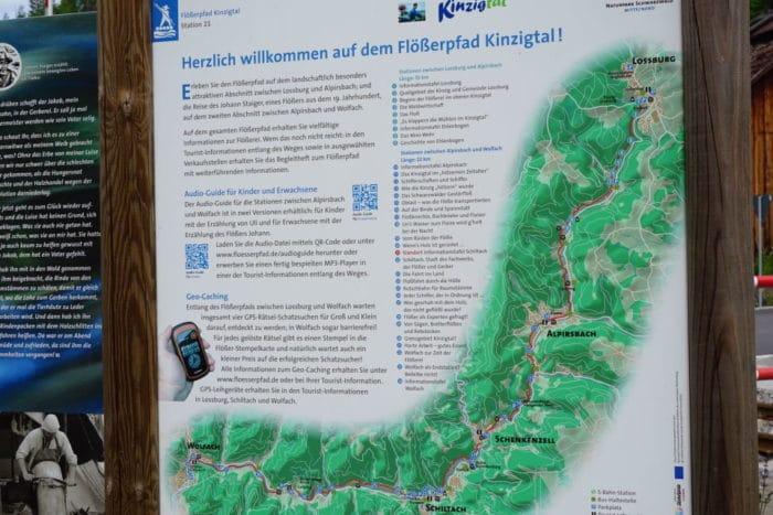 Der Flösserpfad im Schwarzwald - Wanderweg
