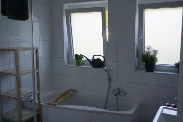 Badezimmer im Traum Ferienhaus im Schwarzwald