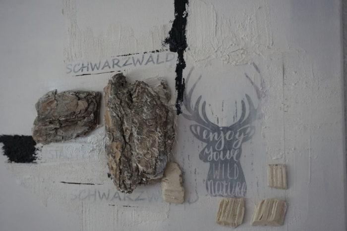 Acryl Bild von Petra Bühler - Schwarzwald