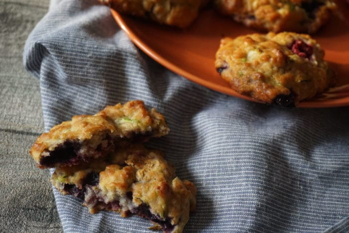 gesunde Kekse ohne Zucker mit Zucchini für Babys geeignet
