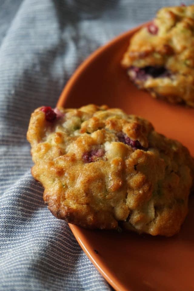 baby-led weaning und breifrei - BLW Frühstück mit gesunden Keksen