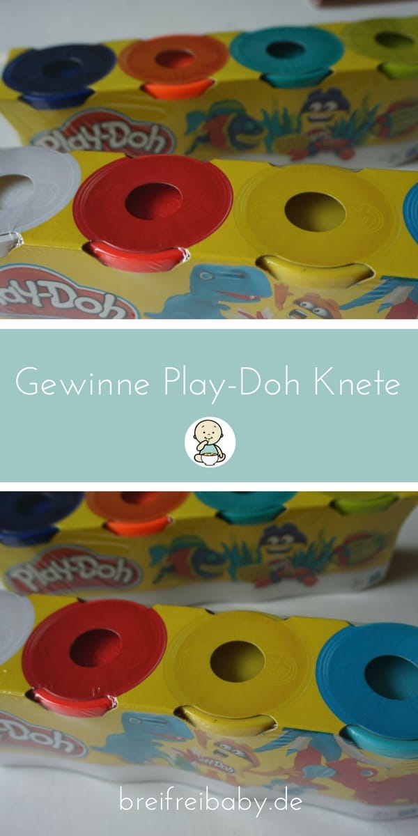 Gewinnspiel Knete von Play-Doh zum Kindergartenpreis 2017