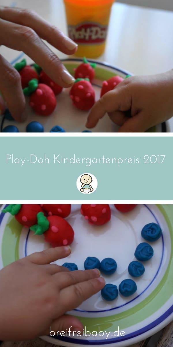 Play-Doh Kindergartenpreis 2017 - Kneten und Preise gewinnen