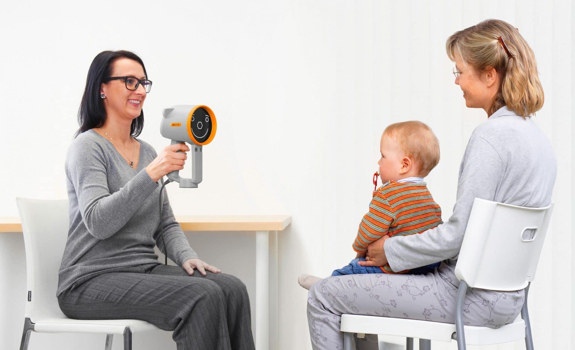 Augenvorsorge bei Kindern und Augenuntersuchung beim Baby und Kind