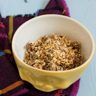 BLW Rezept: Müsli für Babys und Kleinkinder selber machen - Müsli ohne Zucker mit Aprikosen