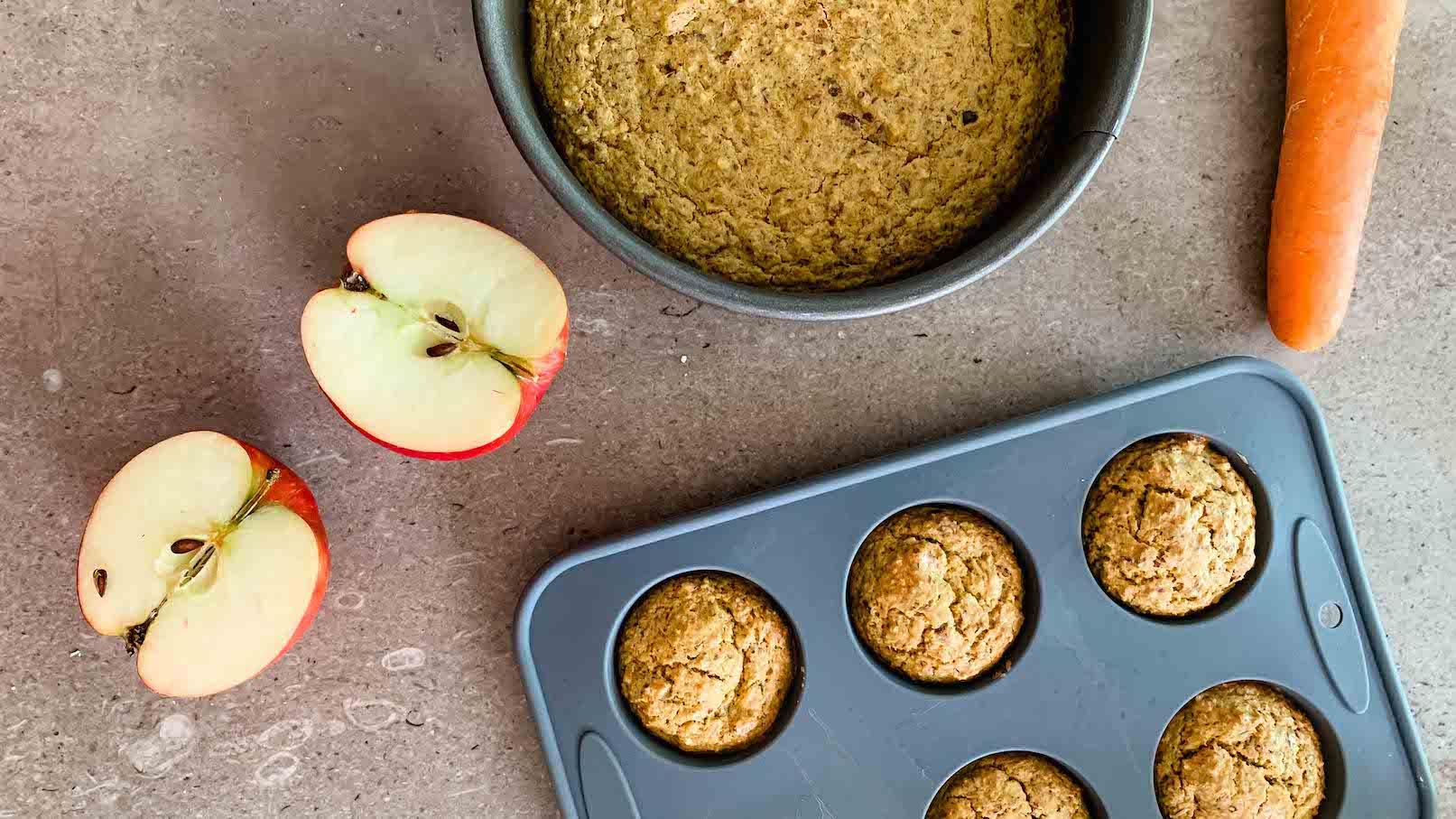Gesunde Muffins für Babys