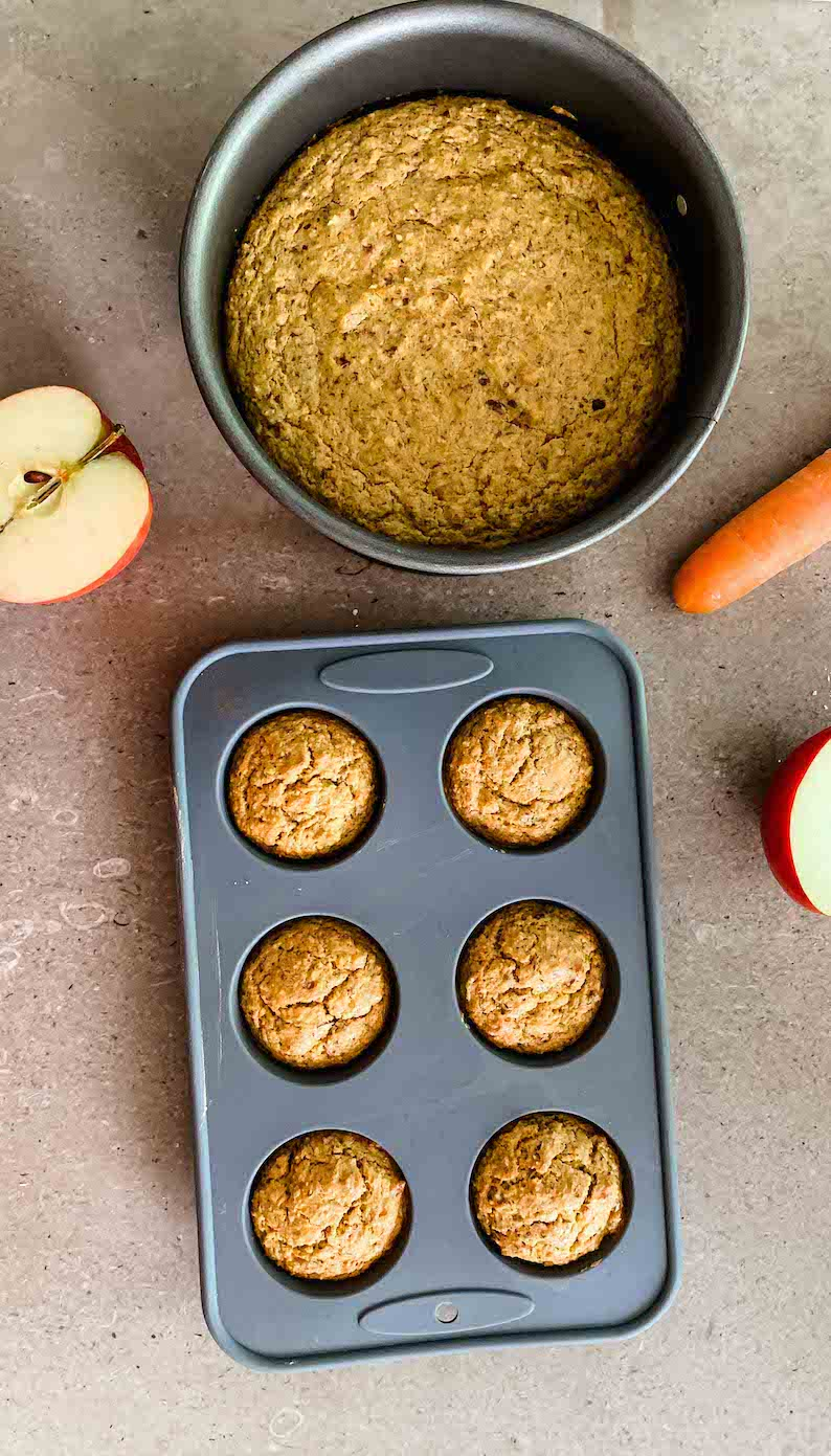 Gesunde Muffins für Babys zur Beikost