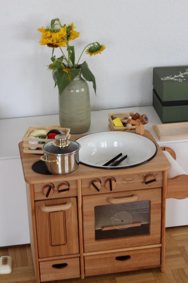 Incroyable Kinderküche Aus Holz Von Livipur Im Test   Kinder Können Hier Gefahrlos  Kochen Und Backen #