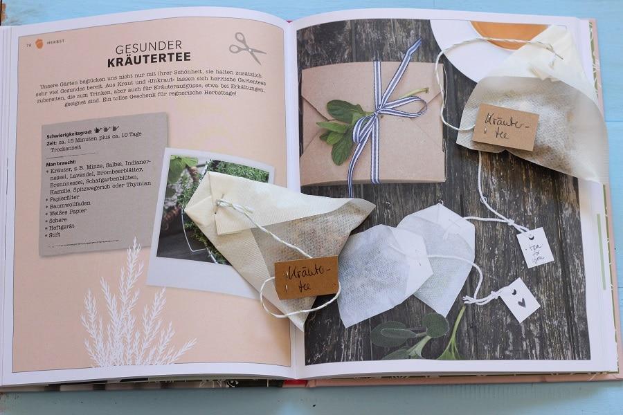 Kräutertee selbst machen - aus dem Buch: Schönes aus dem Garten mit Liebe verschenken