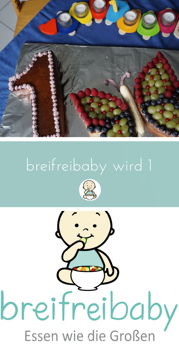 breifreibaby wird 1 - BLW, baby-led weaning, breifrei, Beikost und gesunde Rezept für die Familie