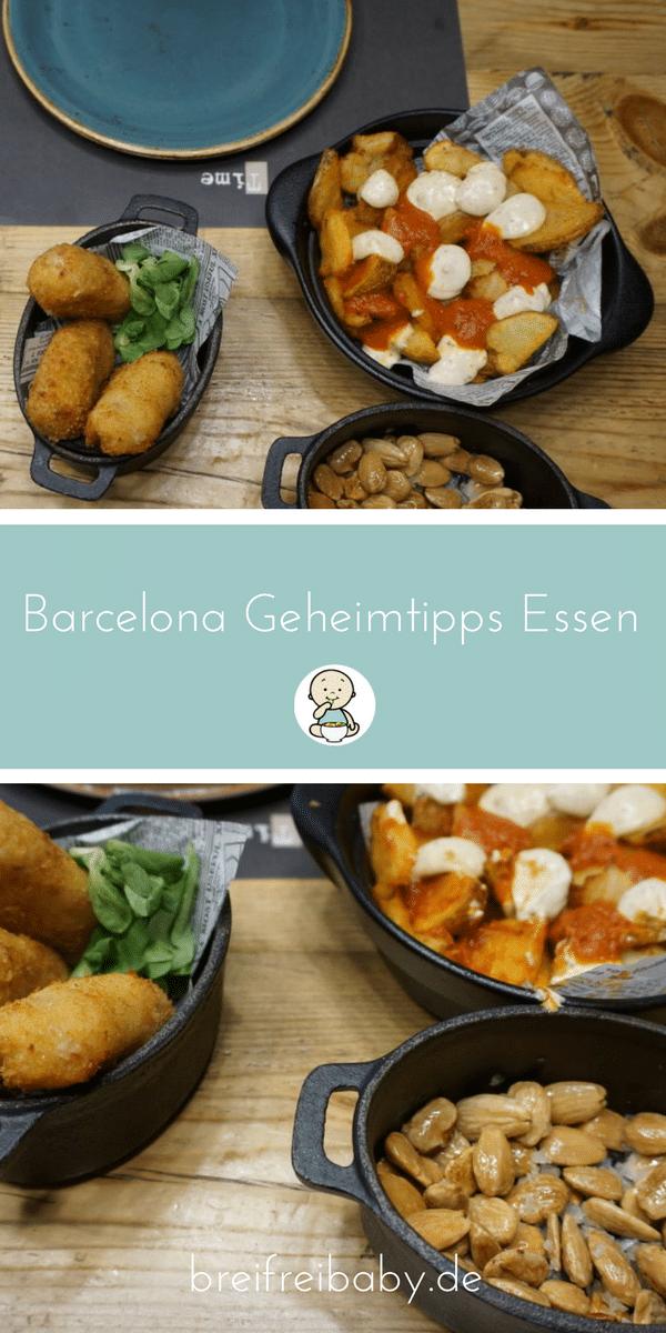 Barcelona Geheitipps Essen unsere Tipps für den Urlaub in Spanien