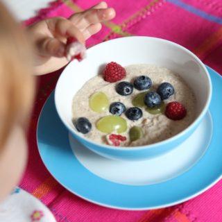 Birchermüsli für Baby und Kind - unser BLW Rezept