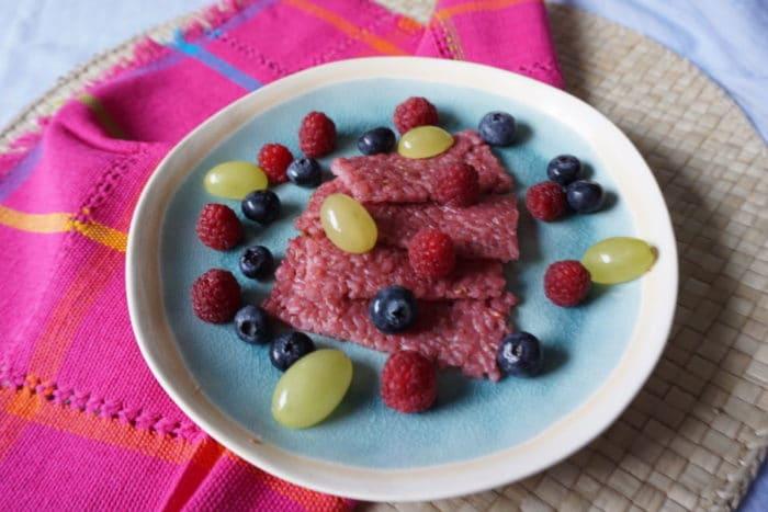BLW und breifrei Rezepte - vegane Milchreisschnitten