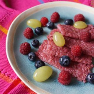 Frühstück für Baby und Kleinind - BLW Rezept Milchreisschnitten