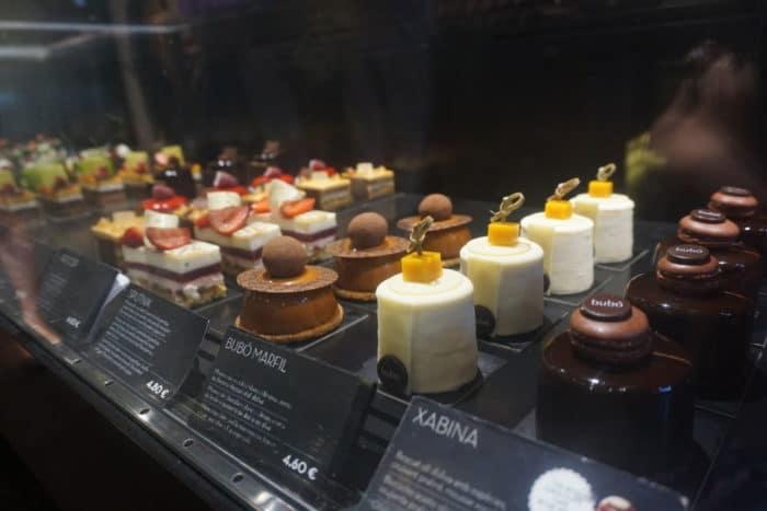 Bubo in Barcelona für Torten Cupcakes und Pralinen