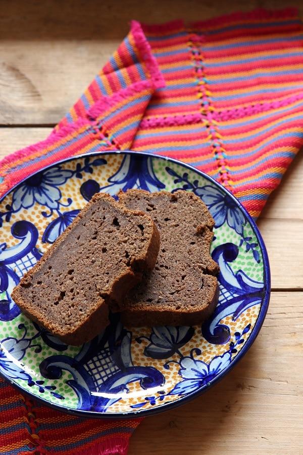 Schoko Zucchinikuchen mit Kakao und Nüssen