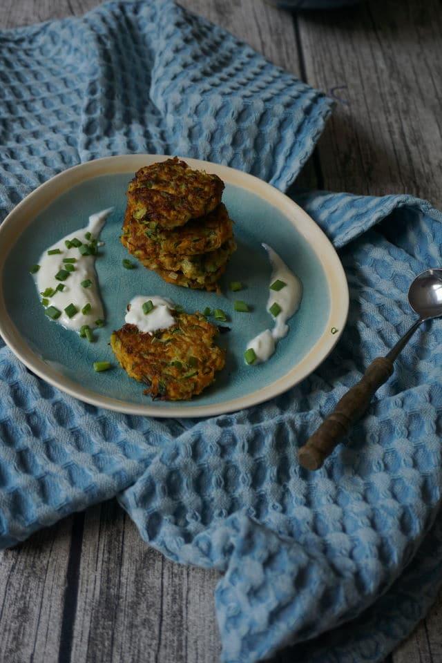 Zucchinibratlinge für Babys und Kleinkinder - leckere vegetarische Rezepte