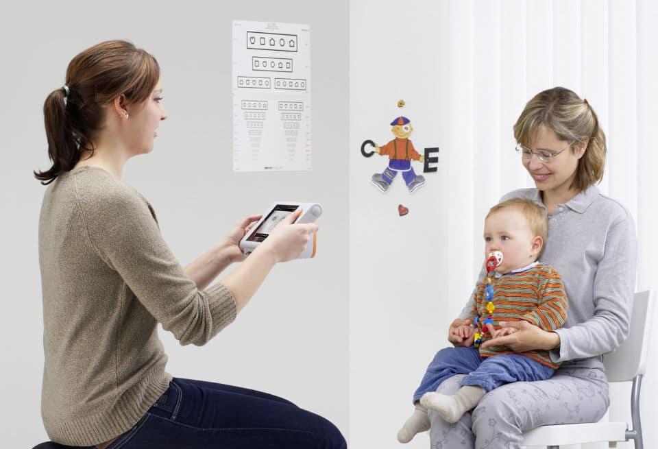 Amplyopievorsorge - Augenvorsorge für Kleinkinder