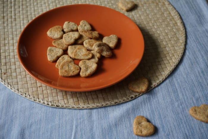 BLW Plötzchen und Keks Rezept für Babys und Kleinkinder