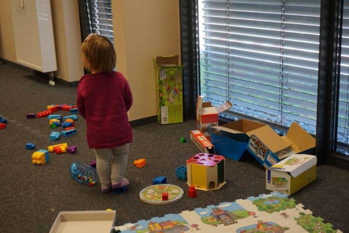 Spielzeug von Kilenda im Betreuungsbereich der Familycon