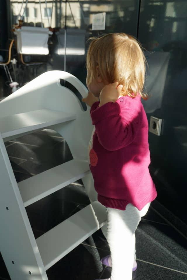 Rutsche fürs Kinderzimmer in weiß
