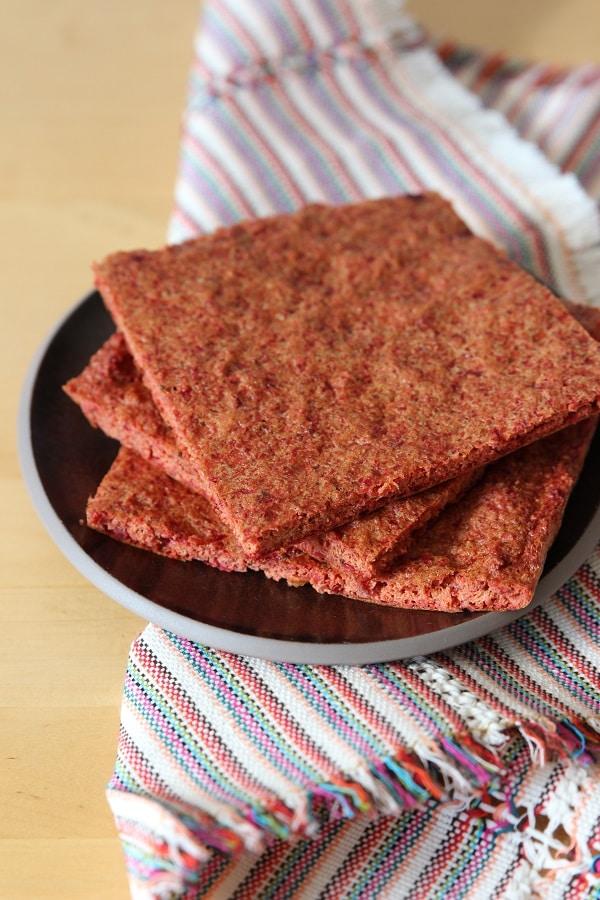 Rote Bete Brot glutenfrei für Baby geeignet