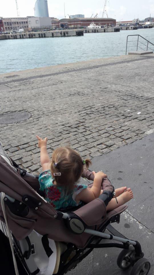Städtetrip Barcelona mit Kind - am Meer in Barcelonetta