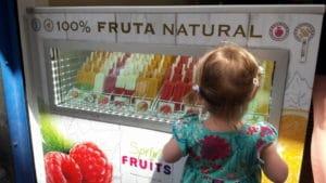 Fruchteis ohne Zucker