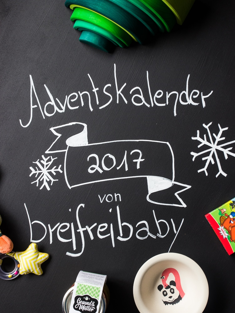 Adventskalender 2017 Breifreibaby - das verlosen wir an euch