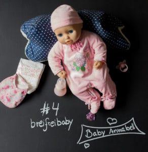 breifreibaby Adventskalender 2017: #4 – Baby Annabell will gefüttert werden