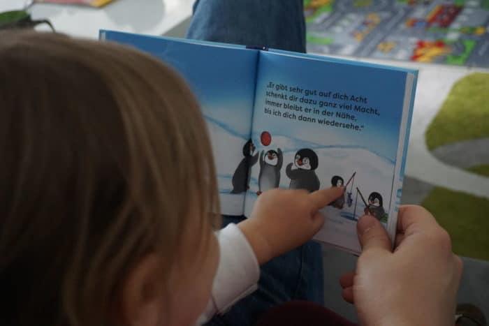 Buch Kindergarten Eingewöhnung - Flim Piguin