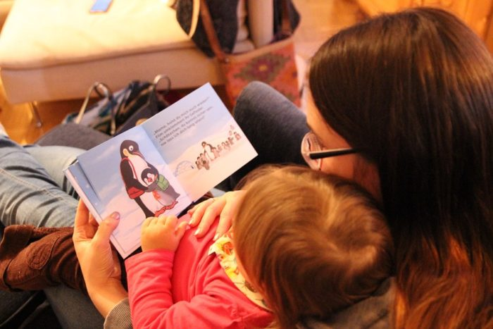 Sandra Schindler - Flim Piguin -Kinderbuch zur Kindergarten Zeit