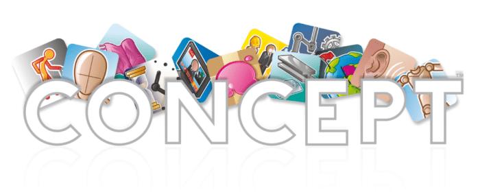 Spieleabend mit Concept Spiel von Asmodee