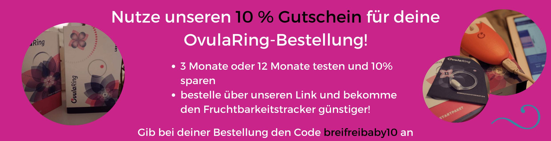 Rabattcode für OvulaRing