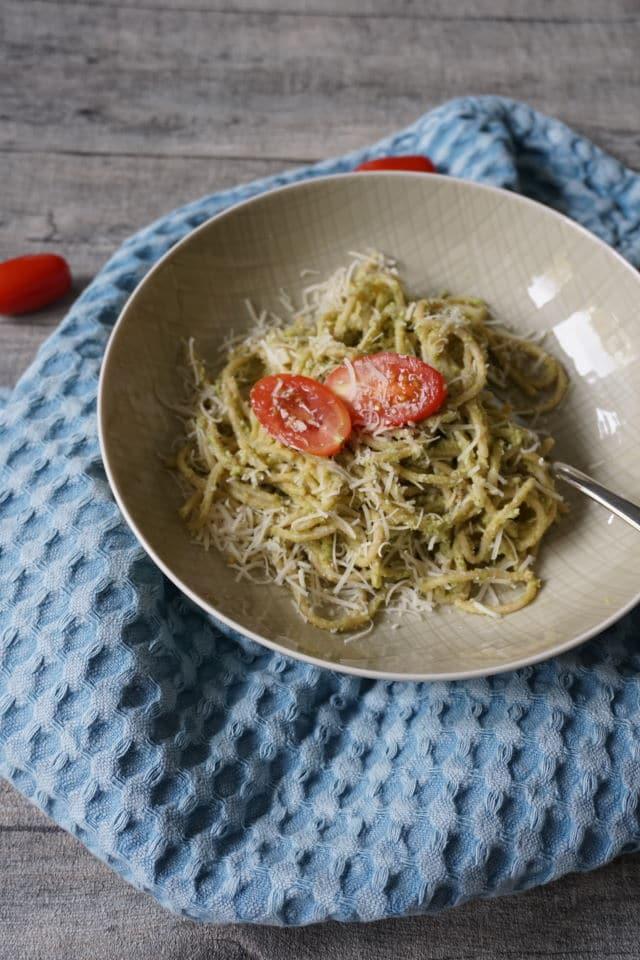 Nudeln mit Pesto für Kleinkinder