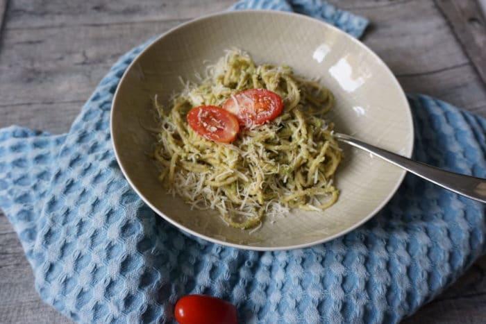 vegetarisches Nudel Rezept mit Brokkoli - auch für Kinder