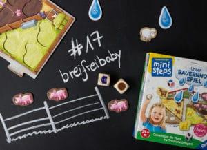 breifreibaby Adventskalender - Bauernhofspiel von Ravensburger - Spiel für Kinder ab 2 Jahren