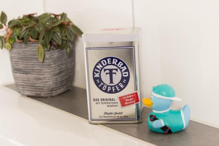 Tipps gegen wunden Baby Popo - Kleiebad von Töofer