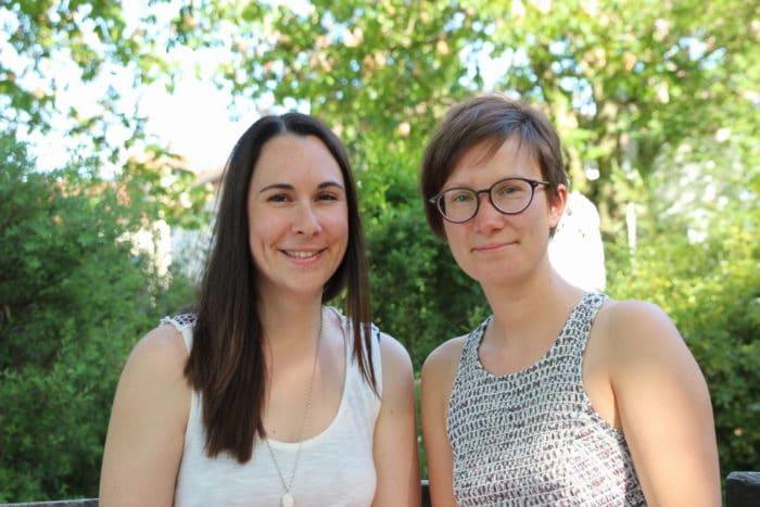 Annina und Lena von breifreibaby