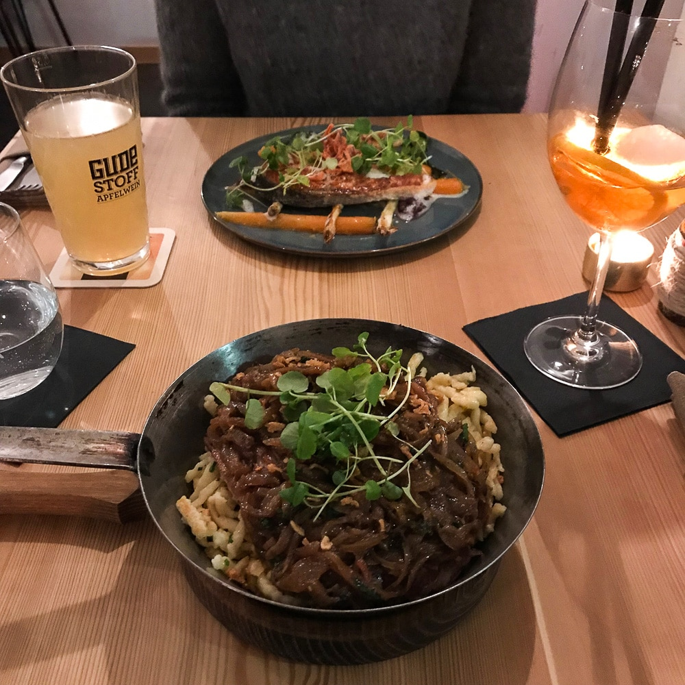 Freitagslieblinge: Restaurant Luise in Darmstadt