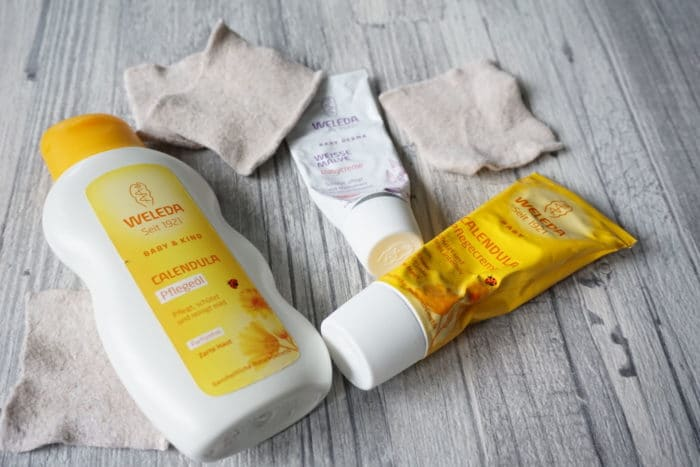 Weleda Calendula Creme - Hautpflege für den wunden Baby Popo