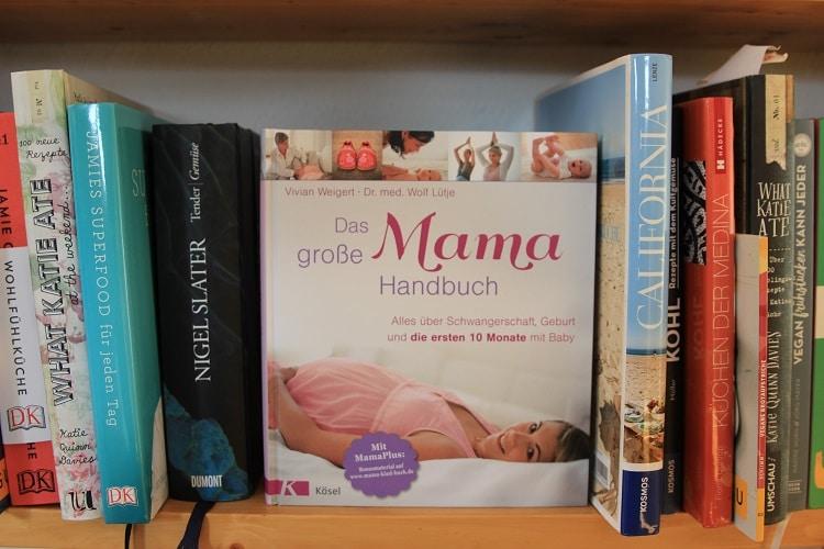 Geschenke für Schwangere: Das große Mama Handbuch - Buch für die Schwangerschaft