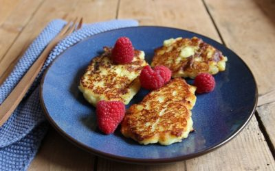 Quarkkeulchen Rezept ohne Zucker – perfekt für BLW Anfänger
