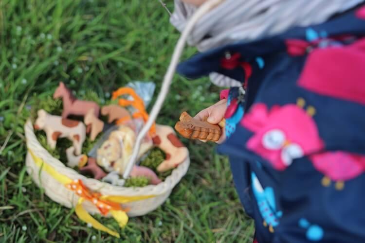 Ostergeschenke für Kinder im Osternest von Livipur