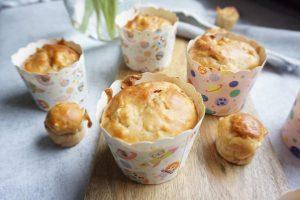 Apfelmuffins ohne Zucker - BLW Rezepte für Babys und Kleinkinder